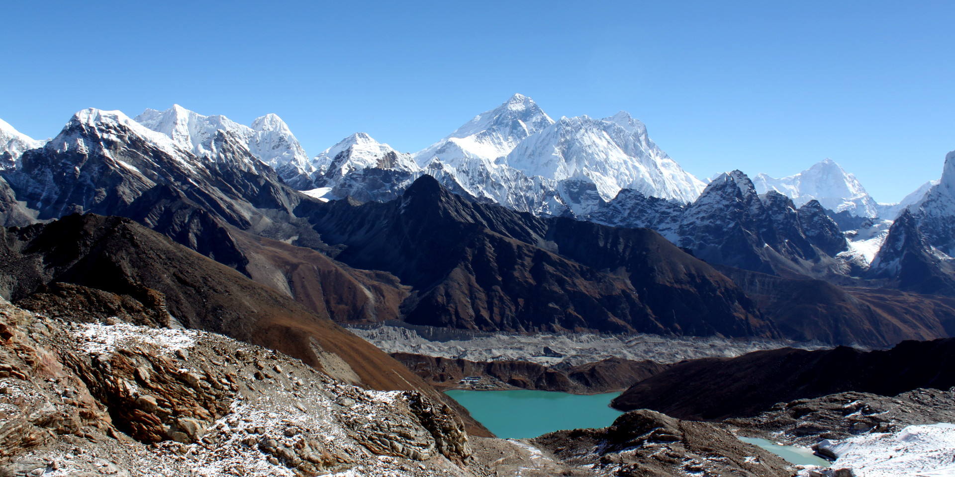 view from renjo la pass